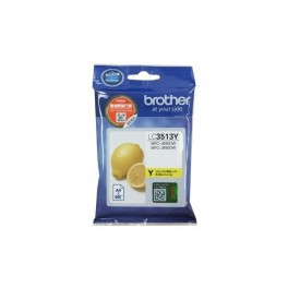 Singapore Original Brother Ink LC-3513Y Yellow for Printer Model: DCP-J572DW, MFC-J491DW