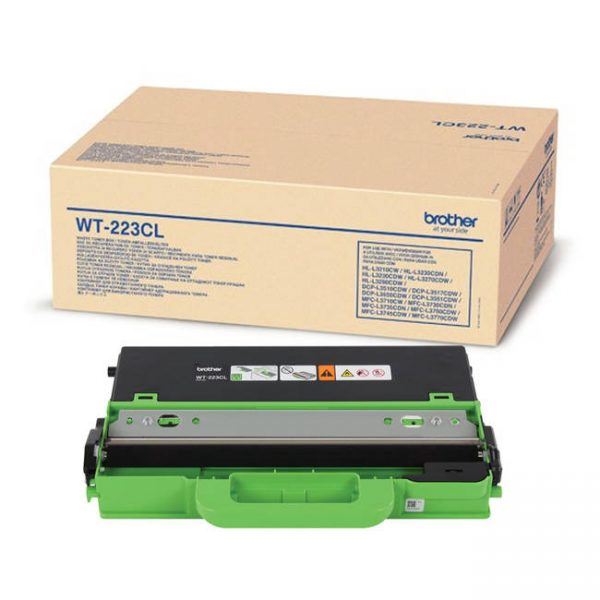 Singapore Original Brother WT-223CL Waste Toner for Printer Models: HL-L3230CDN, HL-L3270CDW, DCP-L3551CDW, MFC-L3750CDW, MFC-L3770CDW