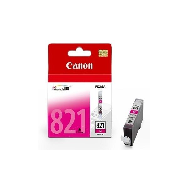 Singapore Original Canon CLI-821 Magenta Ink for For Printer: iP3680, iP4680, MP545, MP558, MP568, MP628, MP638, MP648, MP988, MP996, MX876, MX868
