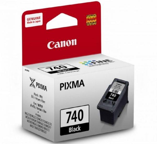 Singapore Original Canon PG-740 Black Ink Printer Models: MG2170, MG3170, MG3270, MG4170, MG2270, MG3570, MG4270, MX397, MX377, MX437, MX517, MX457, MX527, MX537