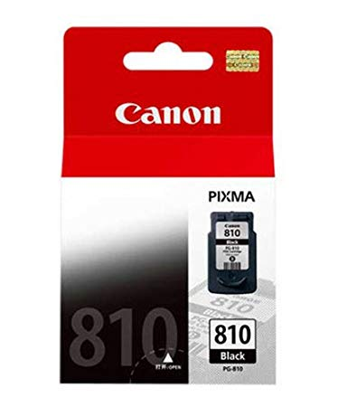 Singapore Original Canon PG-810 Black Ink For Printer: iP2770, iP2772, MP237, MP245, MP258, MP268, MP276, MP287, MP486, MP496, MP497, MX328, MX338, MX347, MX357, MX366, MX416, MX426