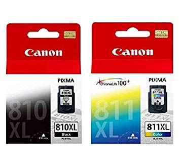 Singapore Original Canon PG-810XL Black and CL-811XL Color Ink For Printer: iP2770, iP2772, MP237, MP245, MP258, MP268, MP276, MP287, MP486, MP496, MP497, MX328, MX338, MX347, MX357, MX366, MX416, MX426