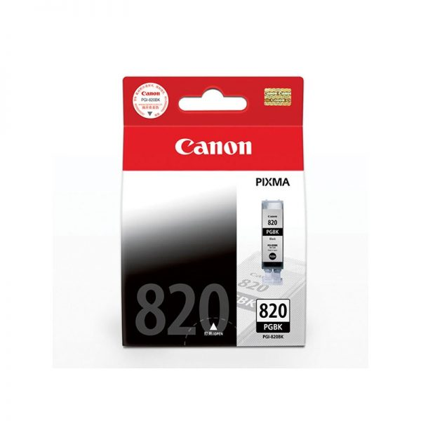 Singapore Original Canon PGI-820 Black Ink for For Printer: iP3680, iP4680, MP545, MP628, MP638, MP988,MX876