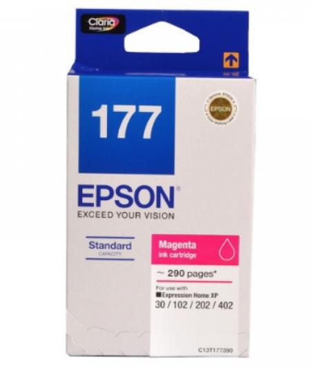 Singapore Original Epson 177 Magenta Ink (C13T177390) For Printer: XP 30, 102, 202, 402