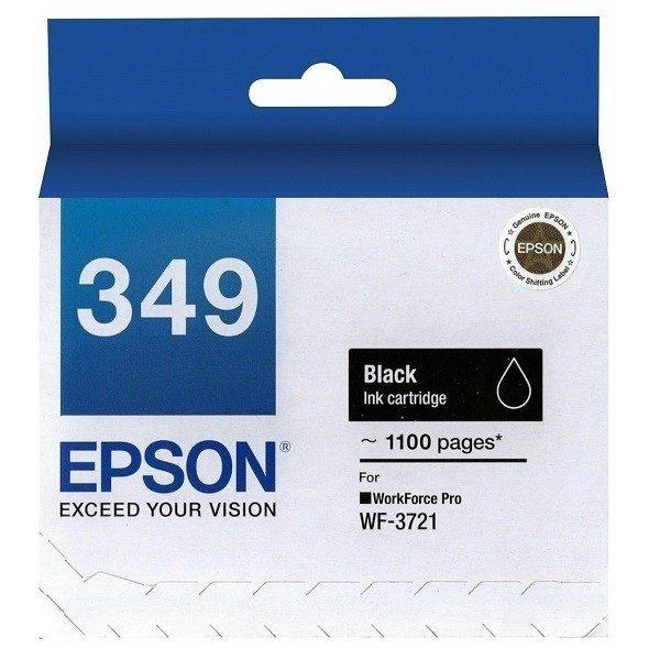 Singapore Original Epson 349 Black Ink (C13T349190) For Printer: WF-3721