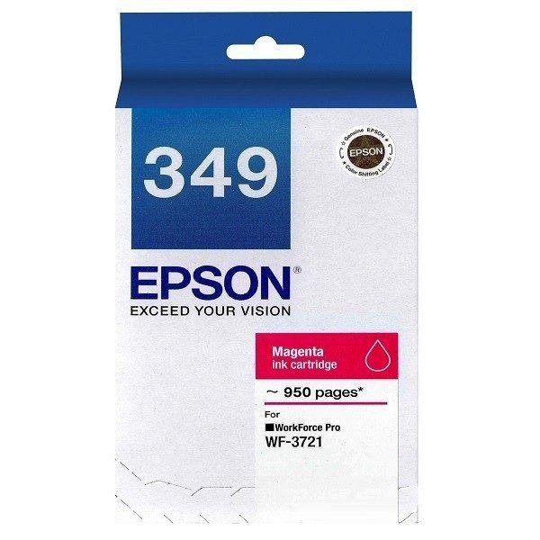Singapore Original Epson 349 Magenta Ink (C13T349390) For Printer: WF-3721