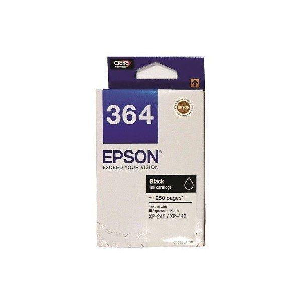 Singapore Original Epson 364 Black Ink (C13T364190) For Printer: XP-245, XP-442