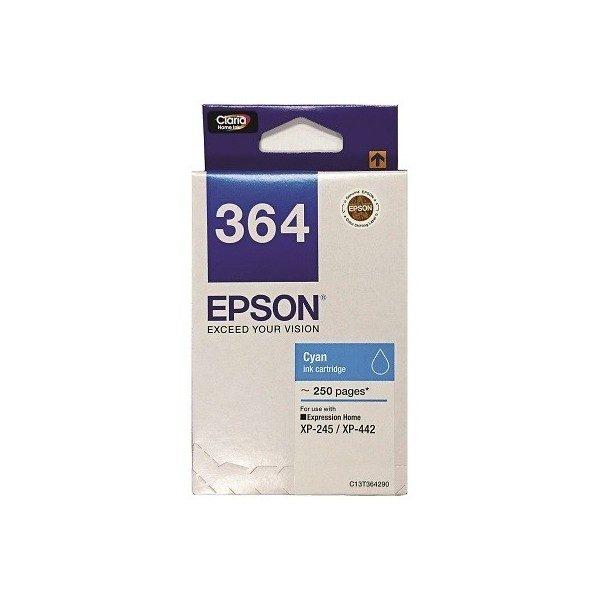 Singapore Original Epson 364 Cyan Ink (C13T364290) For Printer: XP-245, XP-442