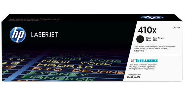 Singapore Original HP-410X (CF410X) Black Toner For Printer: HP Color LaserJet Pro M452dn, M452nw, MFP M477fdn, MFP M477fdw, MFP M477fnw