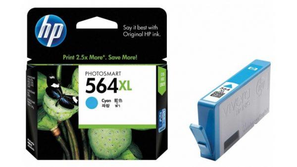 HP 564xl cyan CB323WA ink