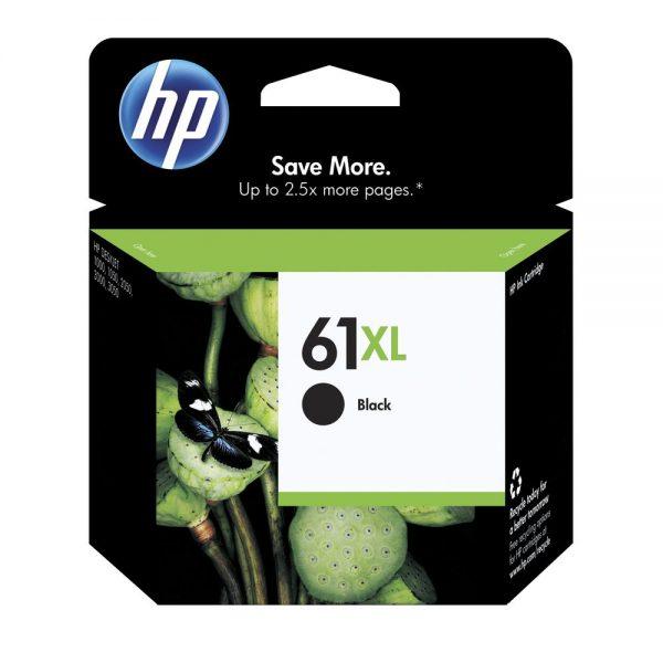 Singapore Original HP-61XL Black Ink (CH563WA) For Printer: HP Deskjet 1000, 1010, 1015, 1050, 2000, 2050, 2510, 2540, 2620, 3000, 3050, HP Envy 4500