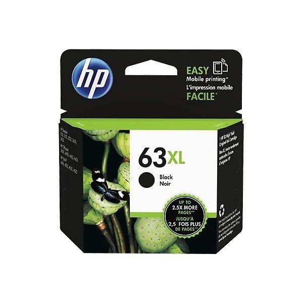 Singapore Original HP-63XL Black Ink (N9K04AA) For printer: HP DeskJet 2130, 3630, HP ENVY 4520, 3830, 4650