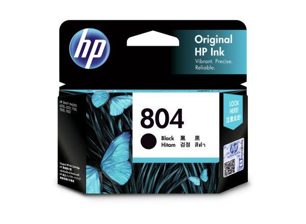 Singapore Original HP-804 Black (T6N10AA) Ink forPrinter: HP ENVY Photo 6220, 6222, 7820, 7822