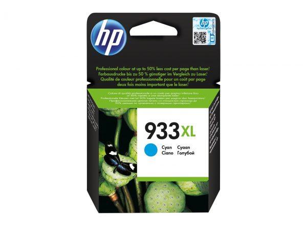 Singapore Original HP-933XL Cyan (CN054AA) Ink For Printer: HP Officejet 6100, 6600, 6700, 7110, 7510, 7610, 7612