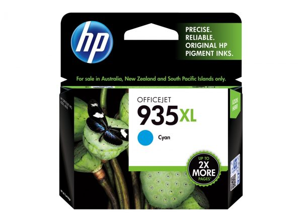 Singapore Original HP-935XL Cyan (C2P24AA) Ink For Printer: HP Officejet Pro 6230, 6830