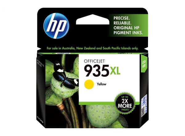 Singapore Original HP-935XL Yellow (C2P26AA) Ink For Printer: HP Officejet Pro 6230, 6830
