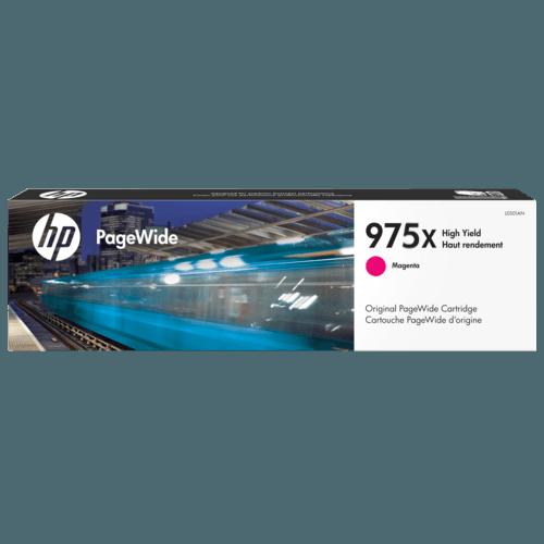 Singapore Original HP-975X Magenta Ink (L0S03AA) For Printer: HP PageWide Pro 452dw, 552dw, 477dw, 577dw, 577z