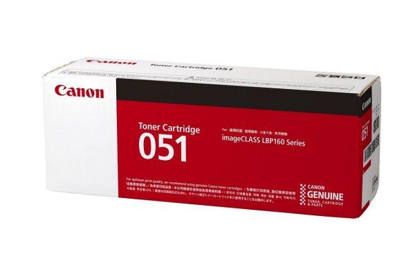 Singapore Original Canon Cart-051 Black Toner for Printer Models: LBP-162dw, MF261D, MF264dw, MF266dn, MF269dw