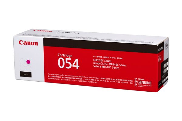 Singapore Original Canon Cart-054 Magenta Toner for Printer Models: imageCLASS MF641Cw, MF643Cdw, MF645Cx, LBP621Cw, LBP623Cdw