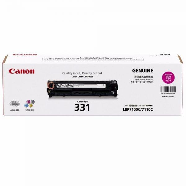 Singapore Original Canon Cart-331 Magenta Toner for Printer Models: LBP-7100Cn, 7110Cw, MF8210Cn, MF8280Cw, MF628CW, MF621Cn