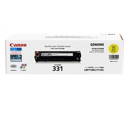 Singapore Original Canon Cart-331 Yellow Toner for Printer Models: LBP-7100Cn, 7110Cw, MF8210Cn, MF8280Cw, MF628CW, MF621Cn