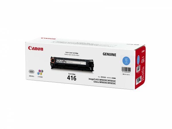 Singapore Original Canon Cart-416 Cyan Toner for Printer Models: MF8010C, MF8030C, MF8040C, MF8050C, MF8080C