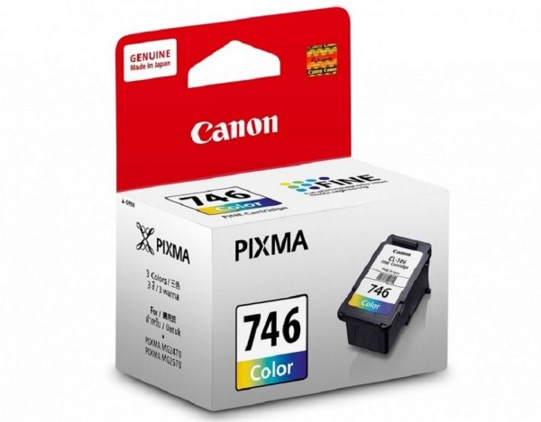 Singapore Original Canon CL-746 Color Ink for Printer Models: iP2870, iP2872, iP2870S, MG2470, MG2570, MG2570S, MG2970, MX497