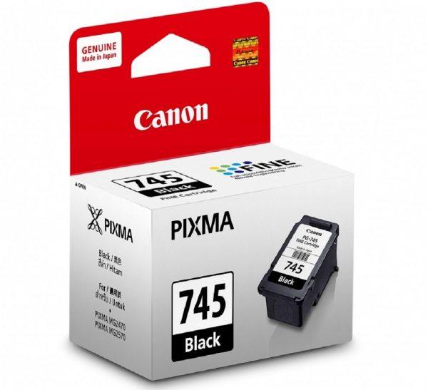 Singapore Original Canon PG-745 Black Ink for Printer Models: iP2870, iP2872, iP2870S, MG2470, MG2570, MG2570S, MG2970, MX497