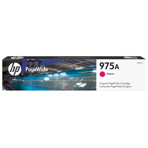 Singapore Original HP-975A Magenta Ink (L0R91AA) For Printer: HP PageWide Pro 452dw, 552dw, 477dw, 577dw, 577