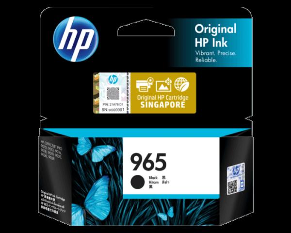HP 965 Black Ink Cartridge (3JA80AA)