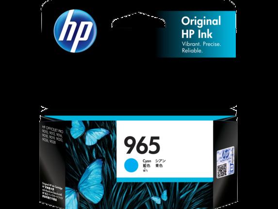 HP 965 Cyan Ink 3JA77AA