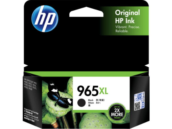 HP 965XL Black Ink 3JA84AA